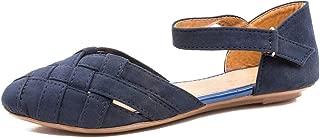 Footshez Suede Crossover Flat Bellie Sandals for Women & Girls