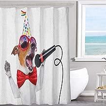 MKOK Fabric Shower Curtain 70