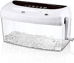 SHYPT Paper Shredder - Hand-cranked Mini Household Shredder Office Desktop Shredder photo