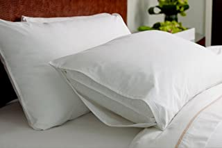 Mahaveer Cotton Waterproof and Dustproof Pillow Protector - Set of 2, (Normal Size - 17 x 25 Inch)