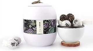 プーアル茶 冰島龍珠 雲南省産特級老樹茶 小沱茶 無農薬中国茶 ポータブル20小粒入り