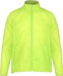 2786 Unisex Lightweight Plain Wind & Shower Resistant Jacket