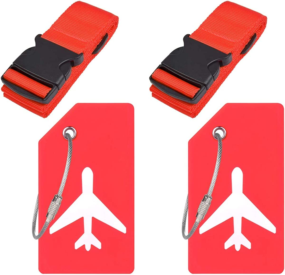 Ovener Travel Luggage Accessories-Adjustable Ranking integrated 1st Same day shipping place StrapsSili