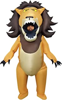 Morph Disfraz de Animal Inflable Gigante Grande de la Boca del león de Halloween para Adultos