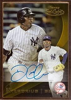 2016 Topps Gold Label Framed Autographs #GLFA-DG Didi Gregorius Certified Autograph Baseball Card