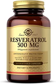 Solgar - Resveratrol 500 mg, 30 Vegetable Capsules