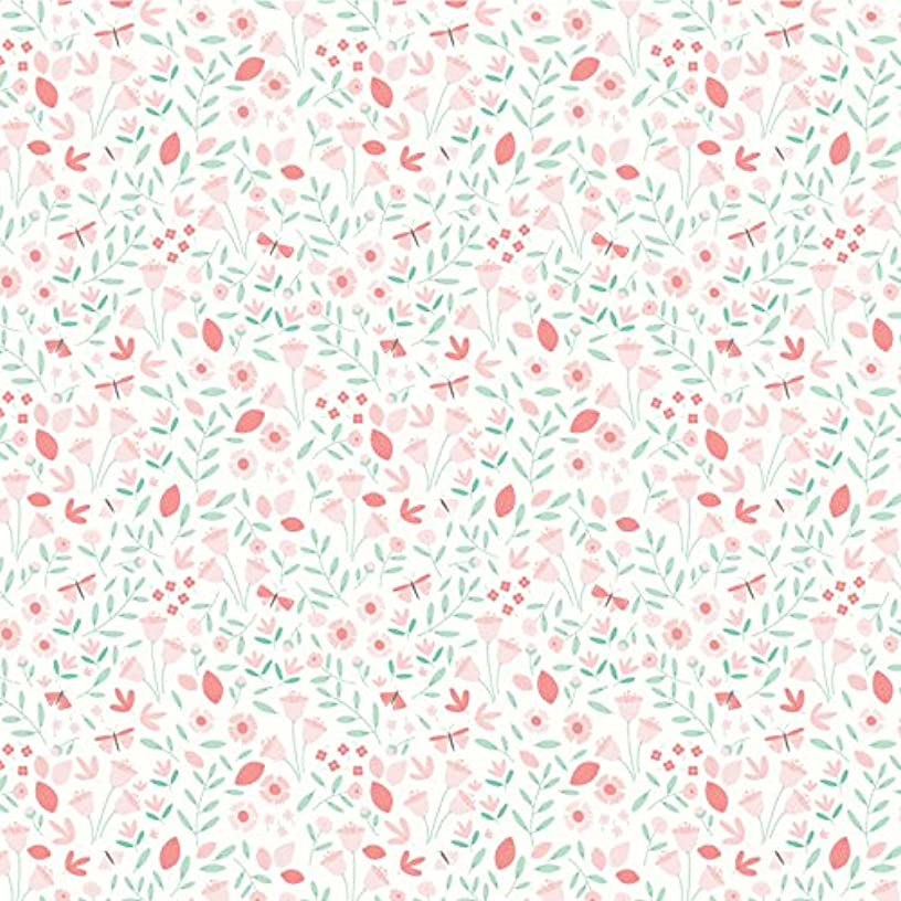 American Crafts 341527 Baby Girl Blossoms Paper Multi