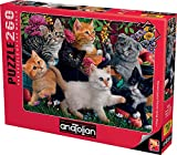 Puzzle Anatolian - Marthy H. Segelbaum: Kittens at Play, 260 piese (3327)