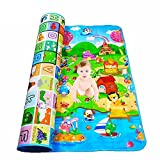 Wazdorf Double Sided Water Proof Baby Mat Carpet Baby Crawl Play Mat Kids Infant Crawling Play Mat Carpet Baby Gym Water Resistant Baby Play & Crawl Mat Playmate for Babies(Large Size-6 FeetX4 Feet) food cover tents Jan, 2021