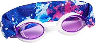 tsdjy Cool Unicorn Purple Swim Goggles,Summer Fashion Anti Fog Uv Swimming Goggles Gifts Ideas for Kids,Teens,Girl,Boy,Women with Headband