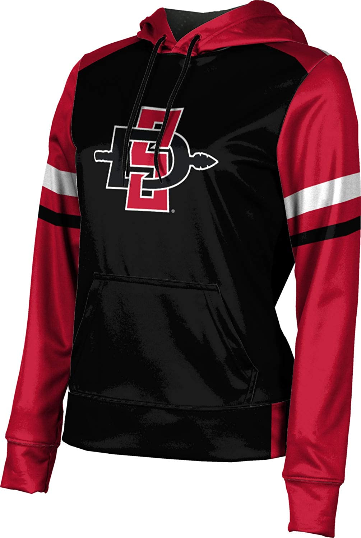 San Diego State University Girls' Pullover Hoodie, School Spirit Sweatshirt (Old School)