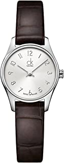 Women's Quartz Watch with Black Dial Analogue Display Quartz Leather K4D231G6
