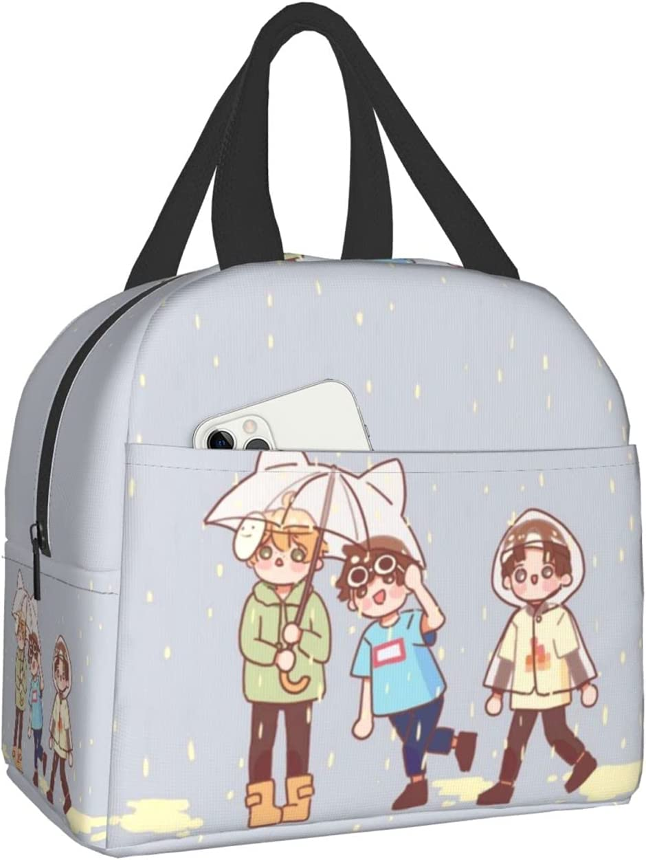 Dream Smp Lunch Bag , Fashion Reusable Lunch Box For Women Man And Kids For School Office Travel