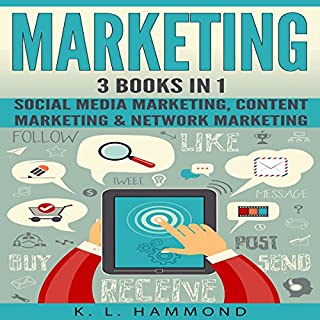 Social Media Marketing: 3 Books in 1 cover art