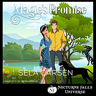 Magic's Promise: A Nocturne Falls Universe Story audiobook cover art