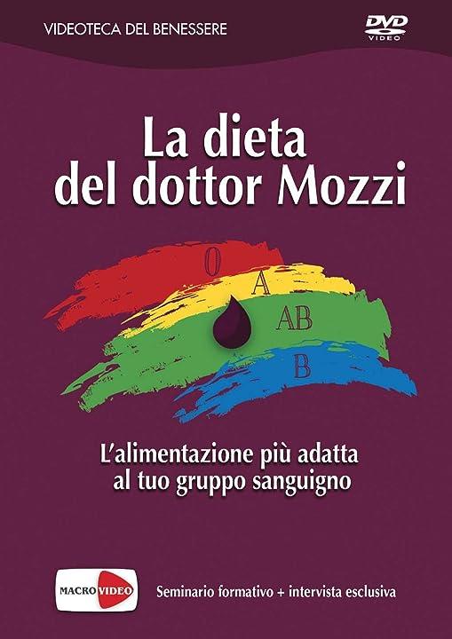 Dvd -  la dieta del dottor mozzi - piero mozzi- macro video 8864121471