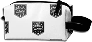 Best Price Icon Portable Travel Cosmetic Bags Makeup Pouch Clutch Bag