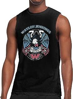 Waylon Jennings Lonesome Soft Men's Sports Vest T-Shirt