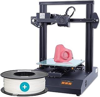 Anet ET4 Pro 2021 3D Printer + 3IDEA Premium PLA White Filament (1.75mm, 1Kg) - Combo Offer