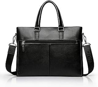 "Men's Accessories Black,Men's Business Briefcase 13"" Laptop Handbag Shoulder Messenger Satchel Casual Bag Organizer Outdoor Recreation"