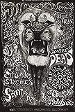 Steppenwolf Santana von Lee Conklin 1968 Wandbild Foto Bild
