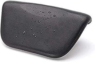 سجادة حمام KCLQTK من البولي يوريثان مع قاعدة تثبيت غير قابلة للانزلاق (اللون: أسود)