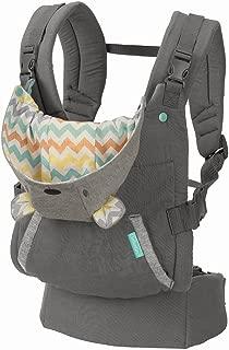 Infantino 符合人体工程学的拥抱背带 灰色 均码
