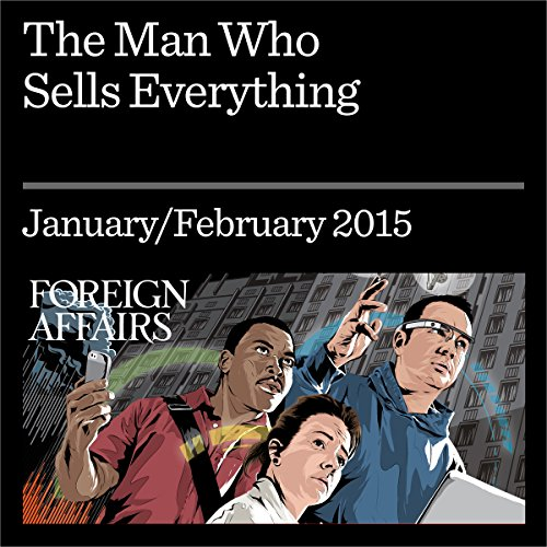 The Man Who Sells Everything  audiobook cover art
