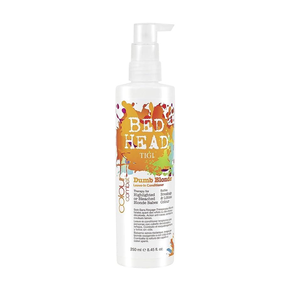 広がりギャングスターサバントTIGI Bed Head Colour Combats Dumb Blonde Leave In-Conditioner 250ml (並行輸入品)