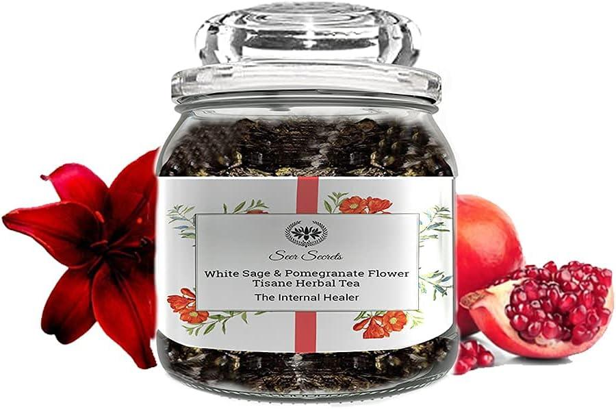 Seer Secrets Financial sales sale Premium supreme Handpicked Sage Flower White Pomegranate