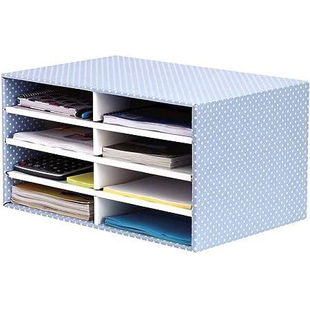 Fellowes Style Trieur cartonné de bureau Bleu/Blanc