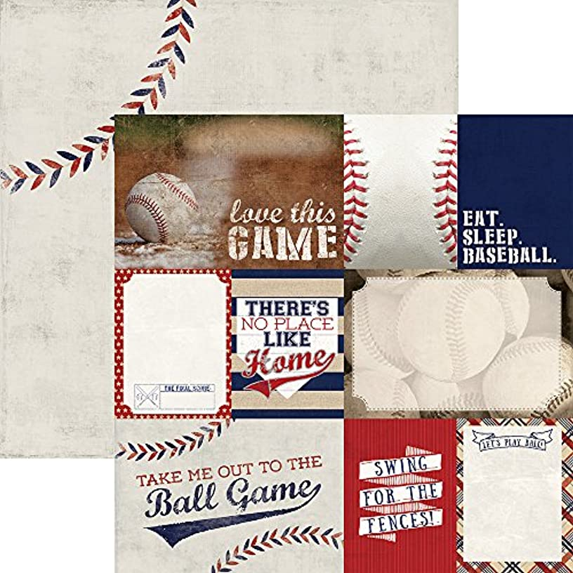 Paper House Productions P-2049E Baseball Double Sided Tags Papers , 12