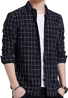 JHIJSC シャツ メンズ 長袖 ビジネス カジュアル チェック おしゃれ 大きいサイズ