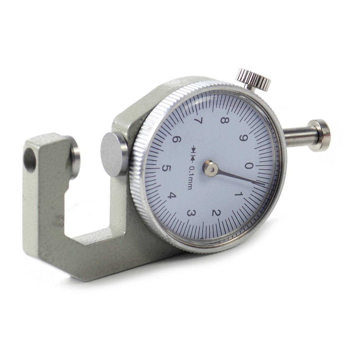 0-10mm Thickness Round Dial Gauge Gage Tester Tool Weekly update Leath Max 80% OFF Measure