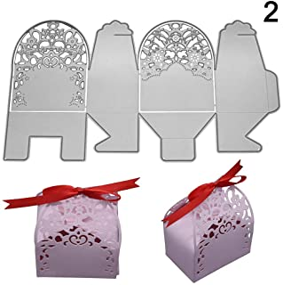 tesyyke DIY Carbon Steel Candy Box Dies Handmade Molding Cutting Template Decoration Scrapbook Craft Die