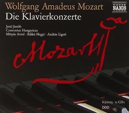 Wolfgang Amadeus Mozart: Die Klavierkonzerte