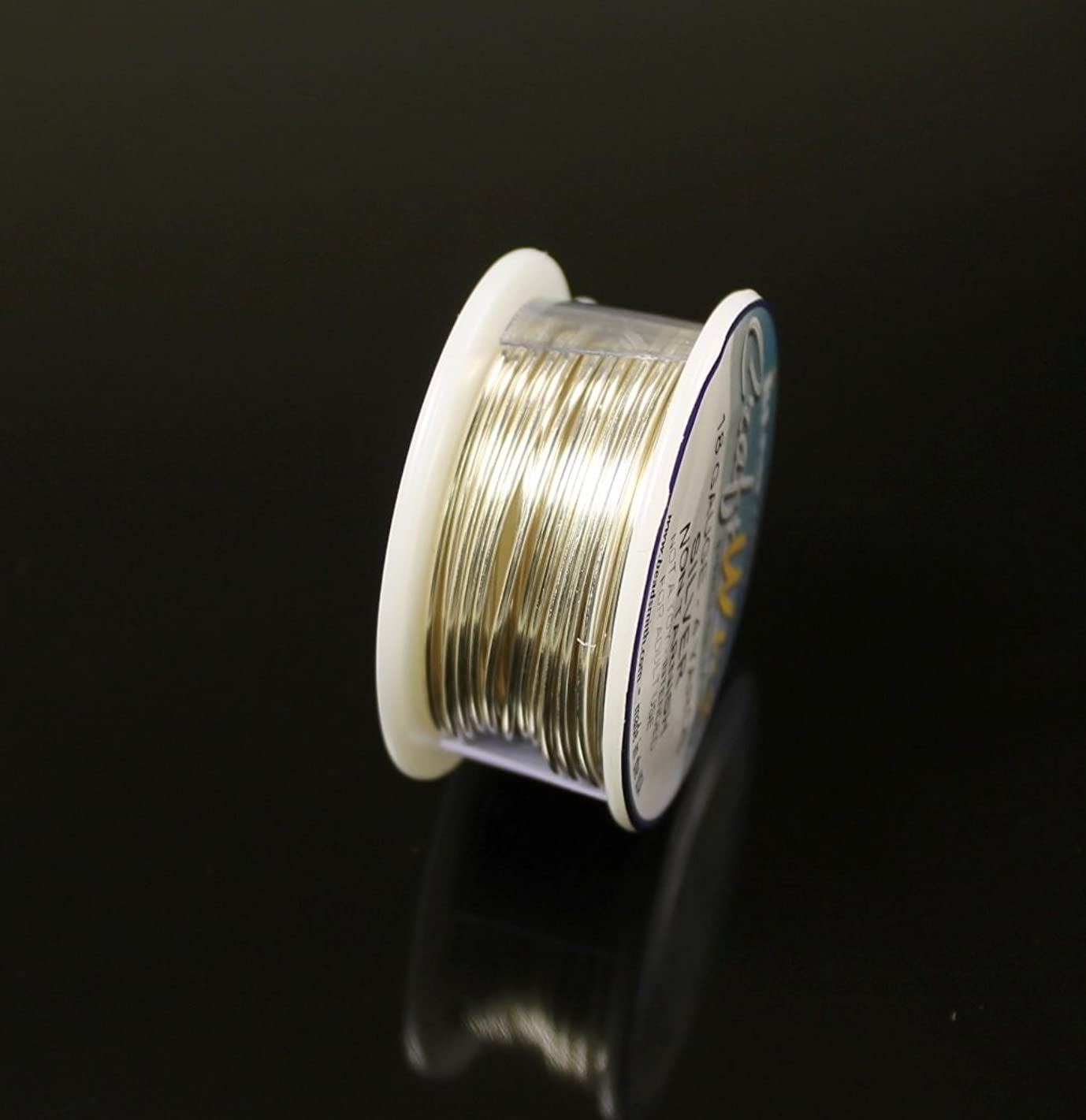 Silver Plated Non Tarnish Wire 24 Ga. 1 Spools 10 Yard Craft Wire