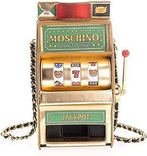 Luxury Fashion | Moschino Womens A750480012888 Gold Shoulder Bag | Fall Winter 19