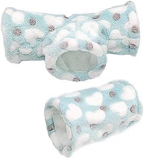 Amakunft小動物用トンネル ハムスター用品 面白い モモンガおもちゃ 小動物 隠れ家 気持ちよく眠れる ハムスターのおもちゃ