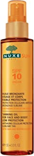 Nuxe Sun Tanning Oil for Face and Body Low Protection SPF 10 150ml