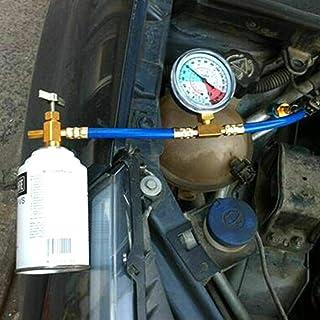 Motto.h R134A Manguera de Recarga para Refrigerante de Coche de 1/2 Pulgada Kit de Medidor de Refrigerante Universal Herramientas de Aire Acondicionado para Auto Functional Applied