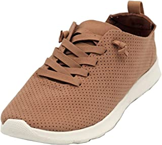 Not Rated Mayo Sport Lace Up Fashion Sneaker, Nude, Size 10