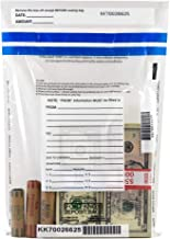 Clear Deposit Bags - 9 x 12 - Case of 500 Bags