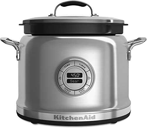 lowest KitchenAid outlet online sale KMC4241SS Multi-Cooker - Stainless high quality Steel (Renewed) outlet online sale