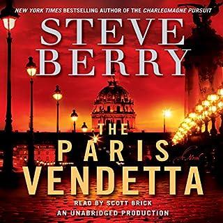 The Paris Vendetta audiobook cover art