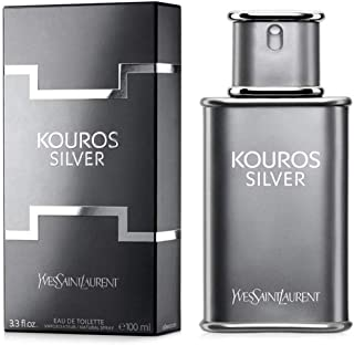 Yves Saint Laurent Kouros Silver Mens Eau de Toilette Spray 100 ml