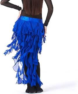Pilot-trade Lady's Belly Dance Hip Scarf Belt Skirt Latin Dance Tassel Wave skirt