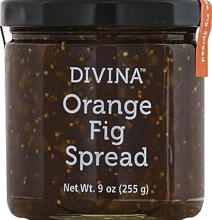 Divina Orange Fig Spread - 9 Ounces