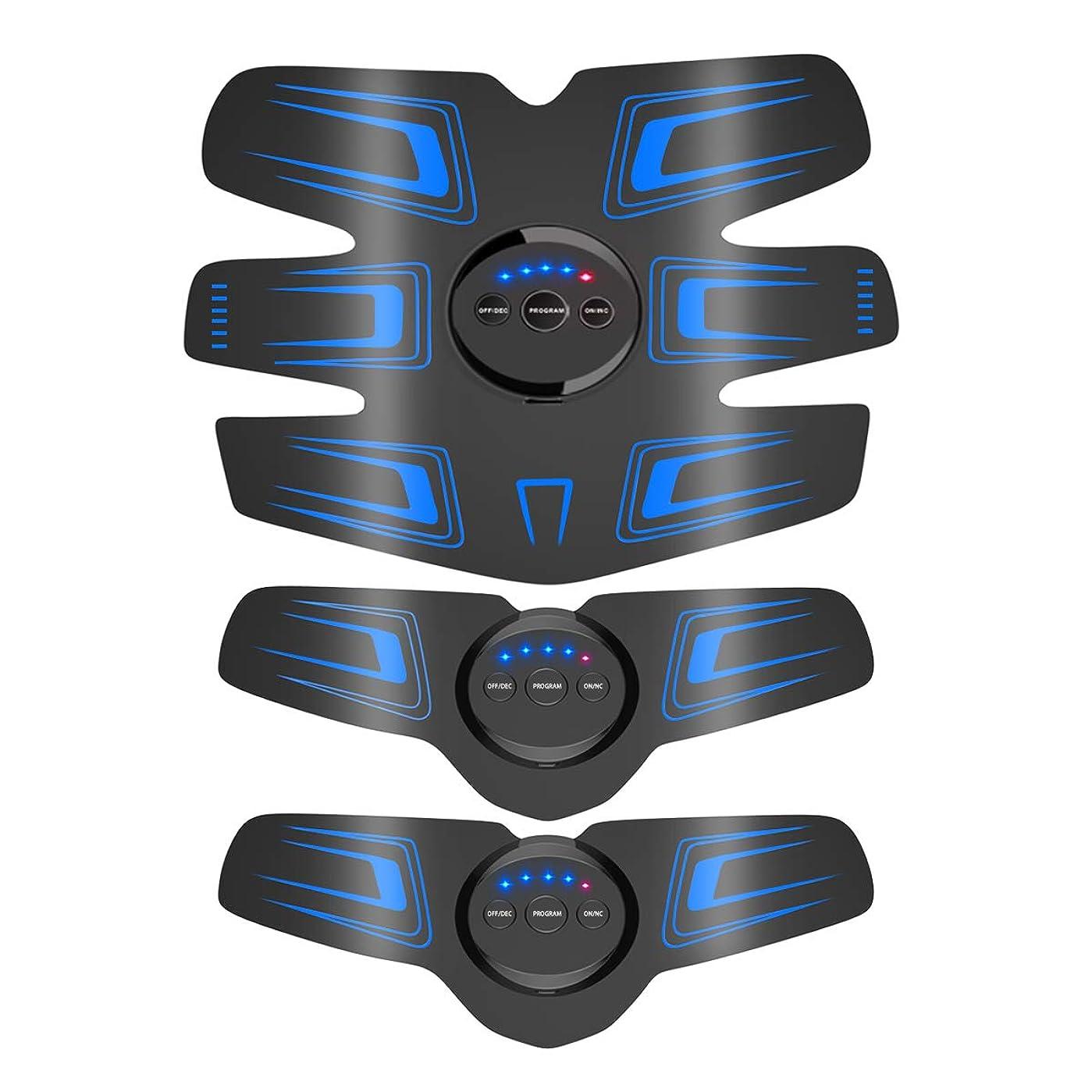 害スナップそれからEMS 腹筋ベルト 筋力トレーニング  超長時間使用 USB充電式 腹筋器具 腹筋トレ ダイエット フィットネス お腹 腕 男女兼用 10段階調節 6モード