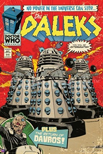 Culturenik Doctor Who Daleks Comic Book Cover Art Sci Fi...